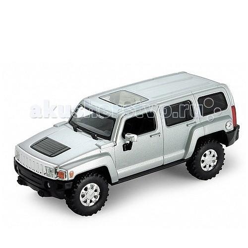 машины kidztech а м 1 26 hummer h2 Машины Welly Модель машины 1:32 Hummer H3