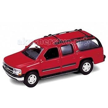 Машины Welly Модель машины 1:34-39 2001 Chevrolet Suburban игрушка welly модель машины 134 39 chevrolet tahoe big wheel 47002