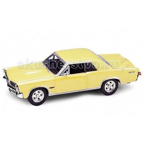 Машины Welly Модель винтажной машины 1:34-39 Pontiac GTO 1965 машины welly модель винтажной машины 1 34 39 peugeot 404