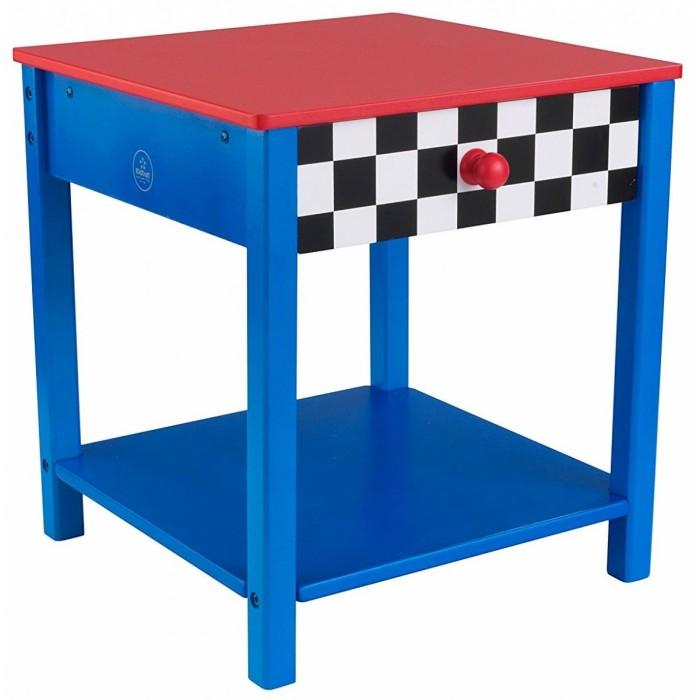 Детские столы и стулья KidKraft Прикроватный столик Гоночная машина