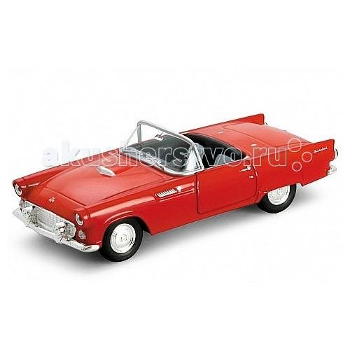 Машины Welly Модель винтажной машины 1:34-39 Ford Thunderbird 1955 машины welly модель винтажной машины 1 34 39 peugeot 404