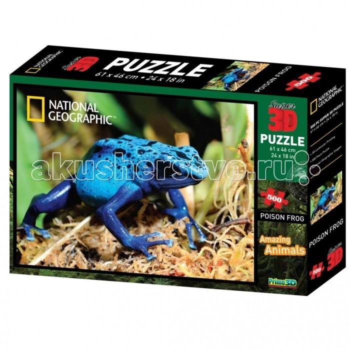 Пазлы Prime 3D Пазл Ядовитая лягушка, Пазлы - артикул:511941