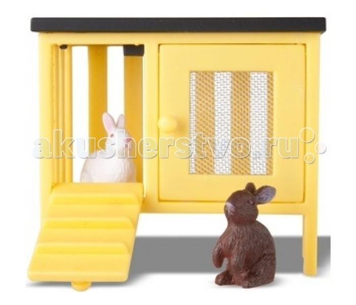 Кукольные домики и мебель Lundby Животные для домика Смоланд Кролики и домик