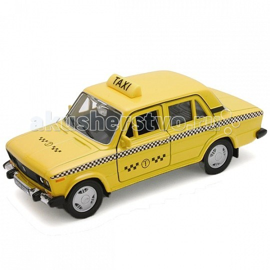 Машины Welly Модель машины 1:34-39 Lada 2106 Такси welly lada 2108 1 34 39