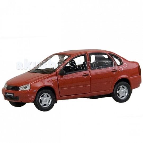 Машины Welly Модель машины 1:34-39 Lada Kalina welly lada kalina rally 42383ry