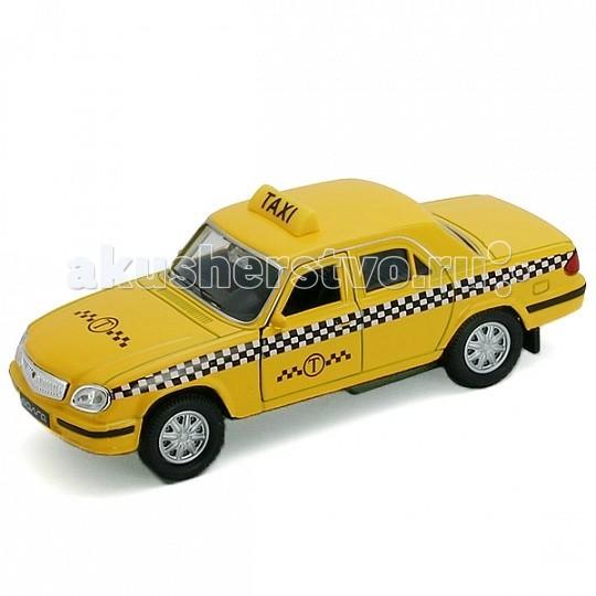 Машины Welly Модель машины 1:34-39 Волга Такси welly 43657ti модель машины 1 34 39 lada granta такси