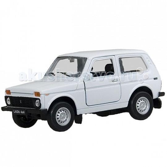 Машины Welly Модель машины 1:34-39 Lada 4x4 машины welly модель машины 1 34 39 lada 4x4 пожарная охрана 42386fs