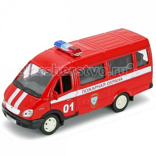 Машины Welly Модель машины 1:34-39 ГАЗель Пожарная охрана