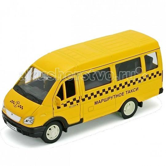 Машины Welly Модель машины 1:34-39 ГАЗель Такси welly 43657ti модель машины 1 34 39 lada granta такси