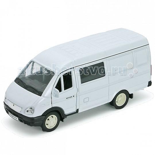 Машины Welly Модель машины 1:34-39 ГАЗель фургон с окном welly welly модель машины газель пожарная охрана