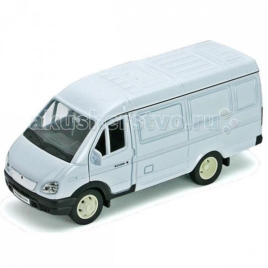 Машины Welly Модель машины 1:34-39 ГАЗель фургон