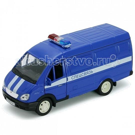 Машины Welly Модель машины 1:34-39 ГАЗель Спецсвязь welly welly модель машины газель пожарная охрана