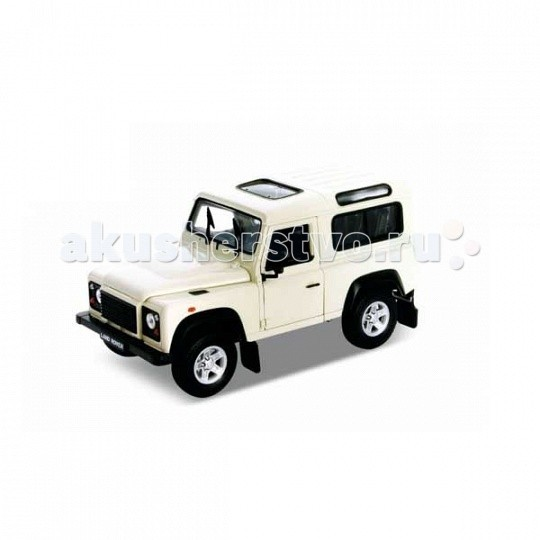 Машины Welly Модель машины 1:34-39 Land Rover Defender ехали машины
