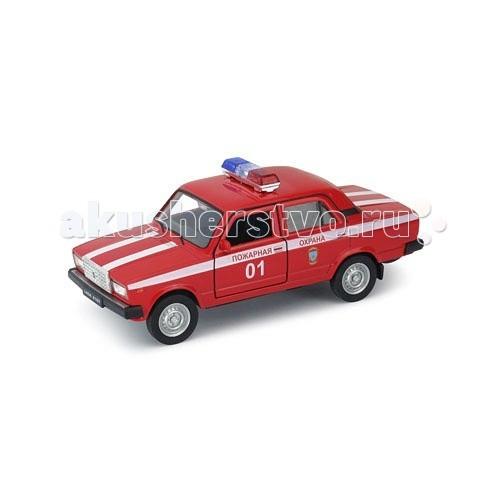 Машины Welly Модель машины 1:34-39 Lada 2107 Пожарная охрана пожарная охрана welly lada granta 1 34 39