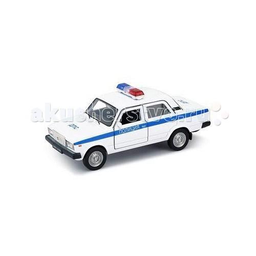 Машины Welly Модель машины 1:34-39 Lada 2107 Полиция колонка rexant 2107 18 2107 black