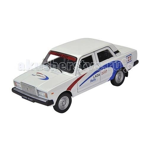 Машины Welly Модель машины 1:34-39 Lada 2107 Rally castor 2107 1
