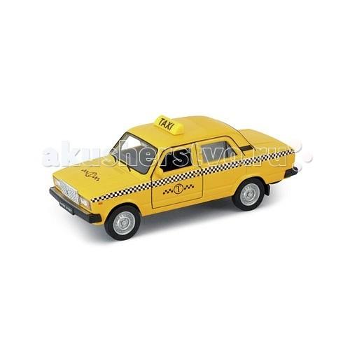 Машины Welly Модель машины 1:34-39 Lada 2107 Такси castor 2107 1