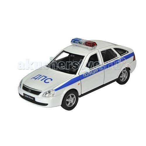 Машины Welly Модель машины 1:34-39 Lada Priora Полиция welly lada 2108 1 34 39