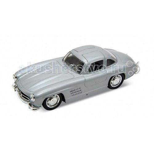 Машины Welly Модель винтажной машины 1:34-39 Mercedes-Benz 300SL welly 84002 велли радиоуправляемая модель машины 1 24 mercedes benz sls amg