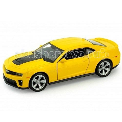 Машины Welly Модель машины 1:34-39 Chevrolet Camaro ZL1 машинка chevrolet camaro 1969 imperial black edition 49924