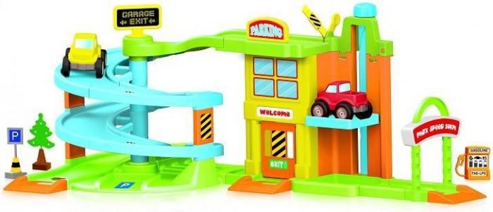 Машины Dolu Гараж с треком 2 уровня, Машины - артикул:512701