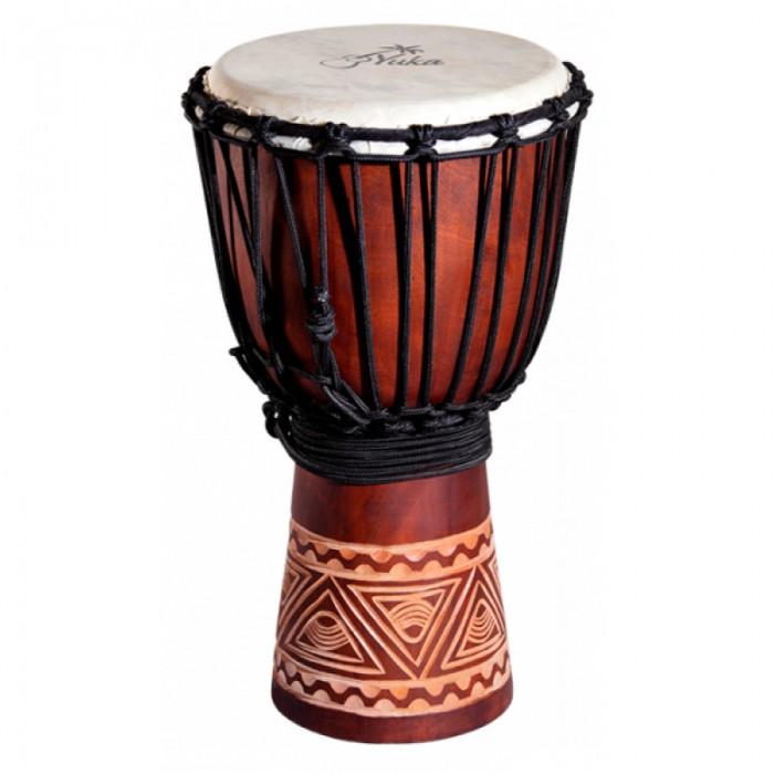 Музыкальный инструмент Yuka Джембе веревочная настройка Natural