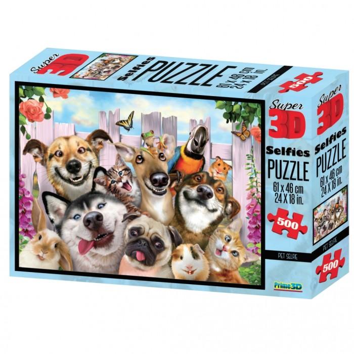 Пазлы Prime 3D Пазл Селфи домашних питомцев, Пазлы - артикул:513846