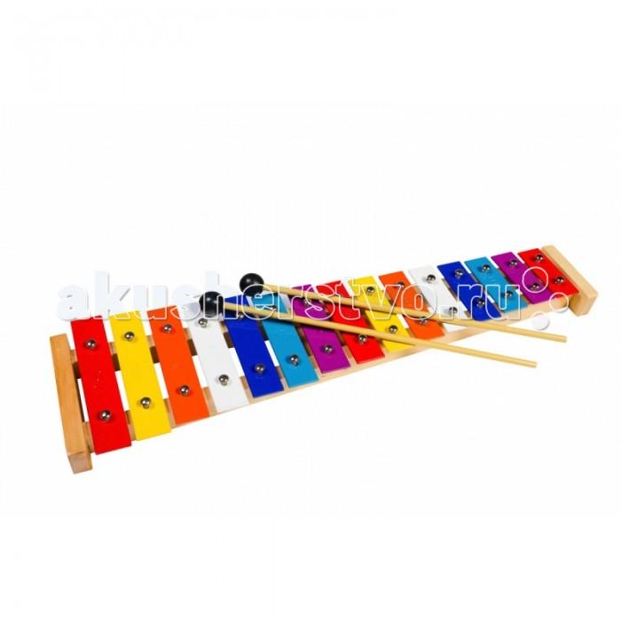 Музыкальные игрушки Flight Металлофон 15 тонов, Музыкальные игрушки - артикул:513891