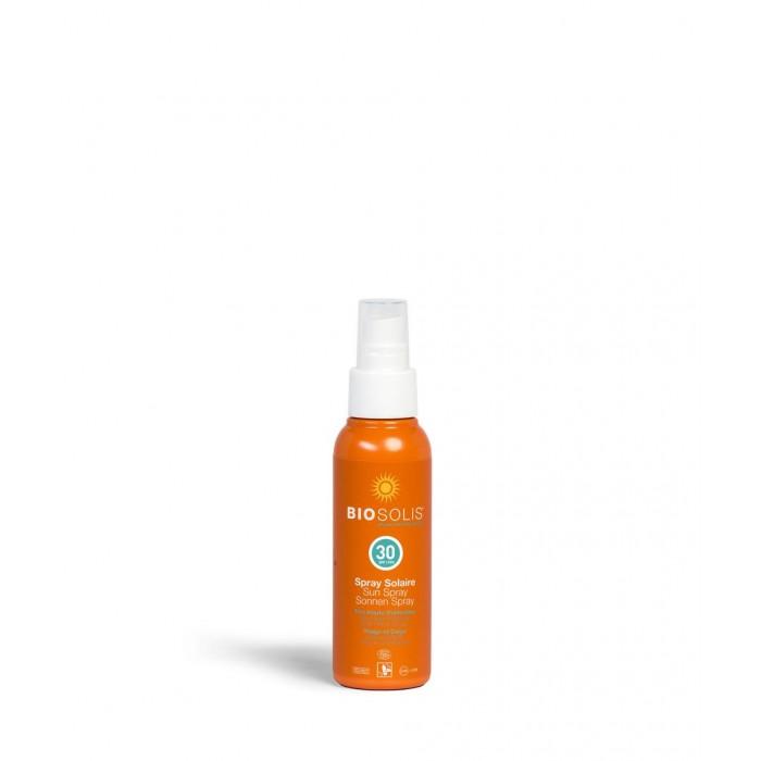 Гигиена и здоровье , Солнцезащитные средства Biosolis Солнцезащитный спрей SPF30 100 мл арт: 513906 -  Солнцезащитные средства