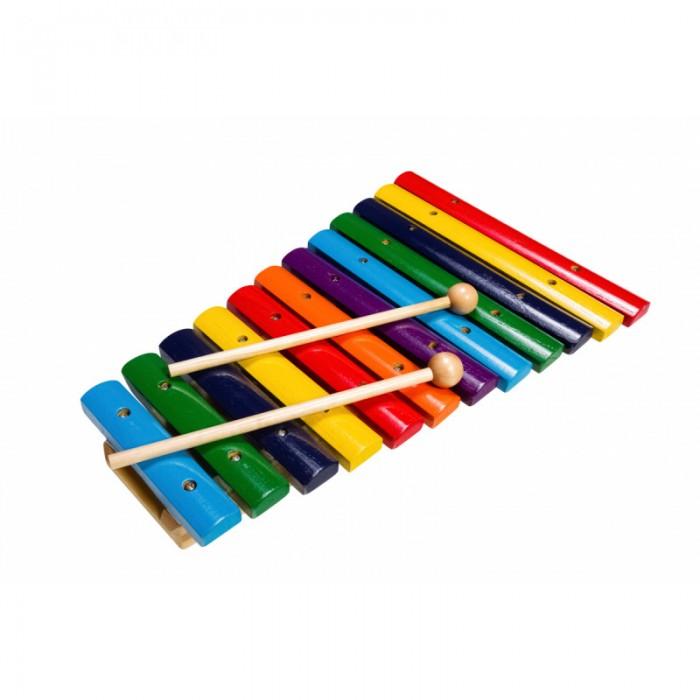 Музыкальные игрушки Flight Ксилофон деревянный 12 тонов, Музыкальные игрушки - артикул:513921