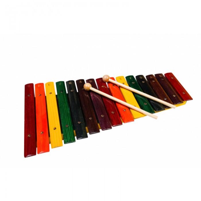 Музыкальные игрушки Flight Ксилофон деревянный 15 тонов, Музыкальные игрушки - артикул:513926