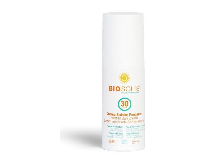 Солнцезащитные средства Biosolis Деликатный солнцезащитный крем-пенка SPF30 100 мл