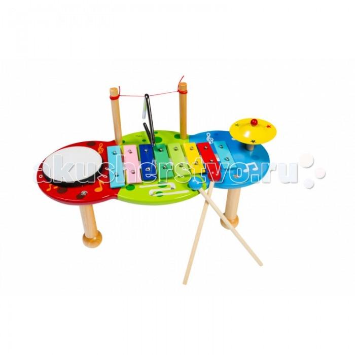 Музыкальные игрушки Flight Набор перкуссии (4 предмета), Музыкальные игрушки - артикул:513966