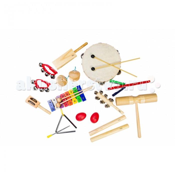 Музыкальные игрушки Flight Набор перкуссии (12 предметов), Музыкальные игрушки - артикул:513976