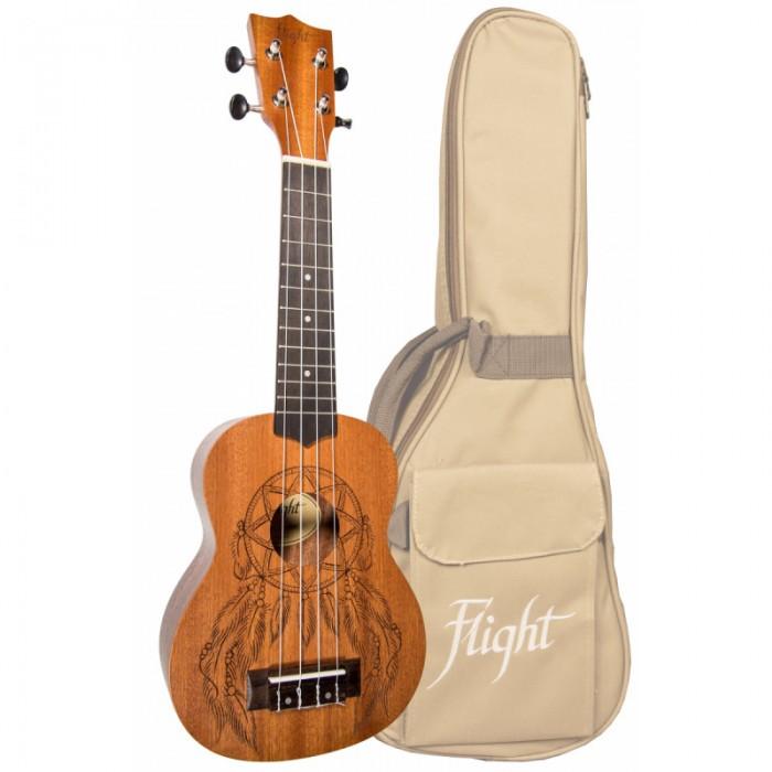 Музыкальные игрушки Flight Укулеле сопрано, Музыкальные игрушки - артикул:514211