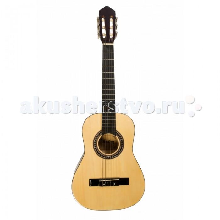 Музыкальные игрушки Veston Уменьшенная классическая гитара 1/2, Музыкальные игрушки - артикул:514231