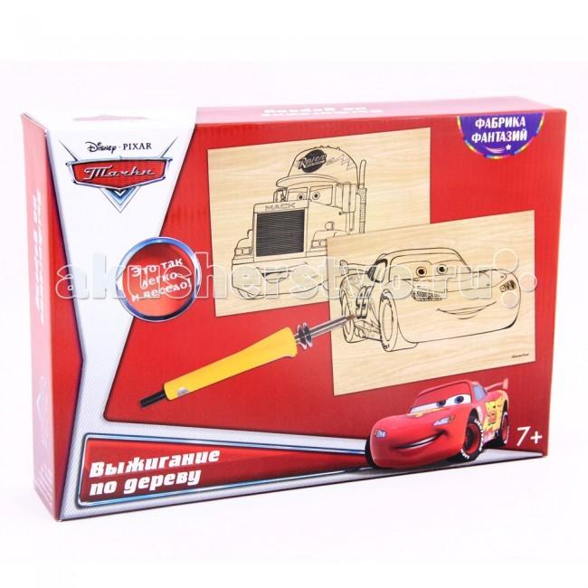 Наборы для творчества Disney Набор для выжигания с прибором Самолеты: Маквин и Мак наборы для творчества disney набор для выжигания с прибором эльза и анна