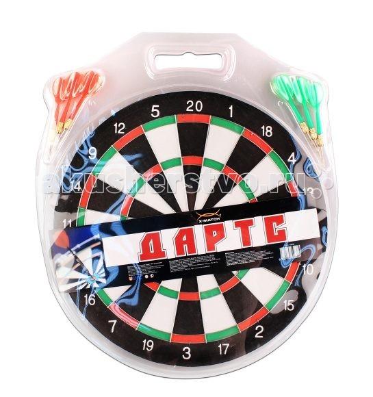 Спортивный инвентарь X-Match Дартс 12 дюймов спортивный инвентарь scratch дартс принцесса