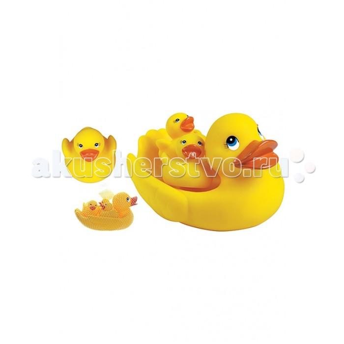 Игрушки для ванны Игруша Набор для купания Семейство утят игрушки для ванны игруша набор для ванны уточки