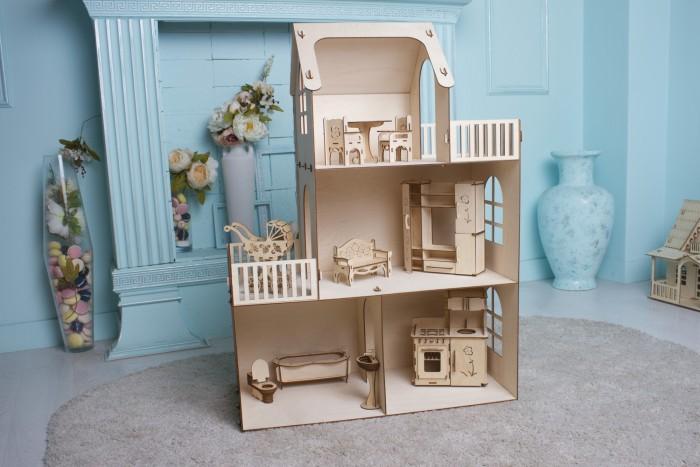 Кукольные домики и мебель Чудо Дом для кукол Лайт, Кукольные домики и мебель - артикул:514456