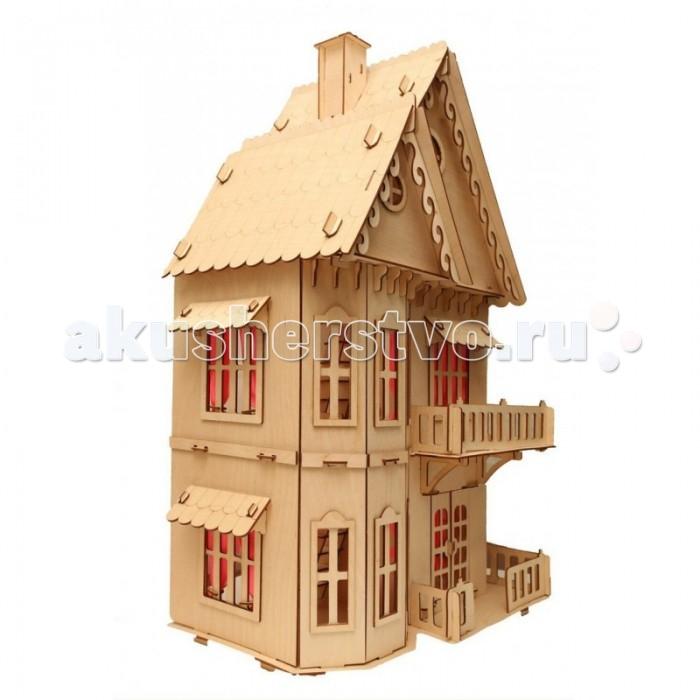 Кукольные домики и мебель Чудо Кукольный Домик Лайт, Кукольные домики и мебель - артикул:514481