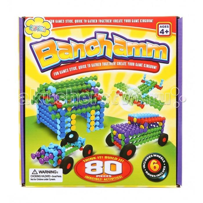 Конструкторы Игруша Набор для конструирования 80 деталей конструкторы игруша геометрические блоки 18 деталей