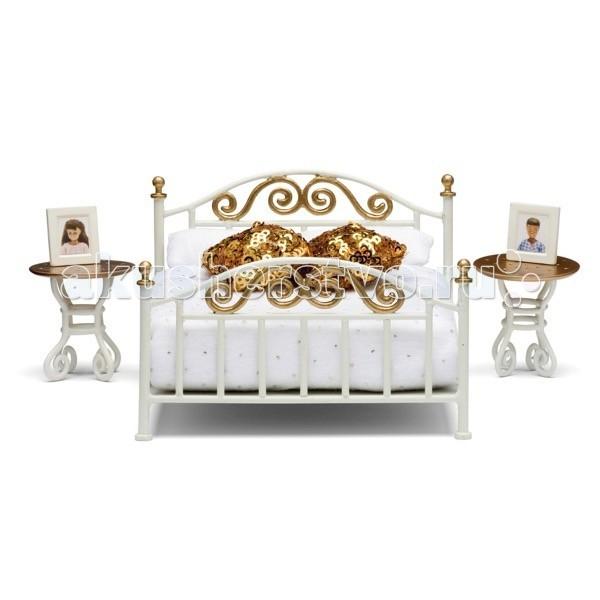 Картинка для Кукольные домики и мебель Lundby Мебель для домика Смоланд Спальня в античном стиле