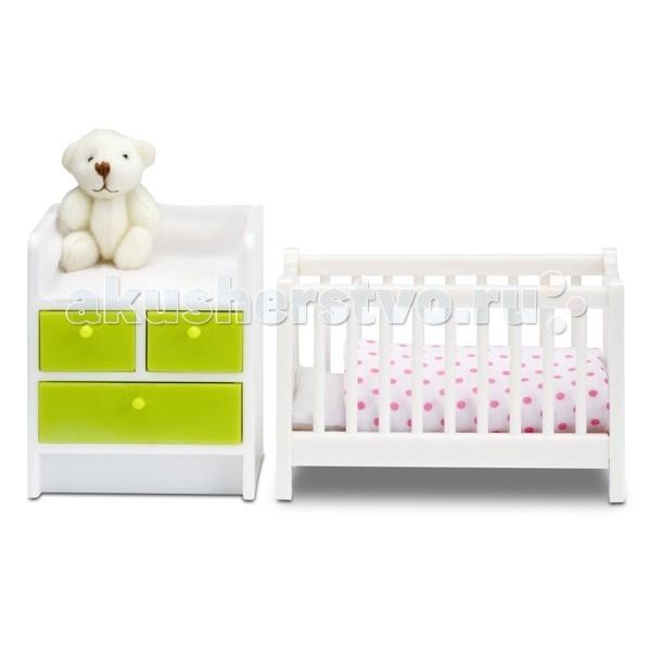 Кукольные домики и мебель Lundby Мебель для домика Смоланд Детская для младенца, Кукольные домики и мебель - артикул:51475
