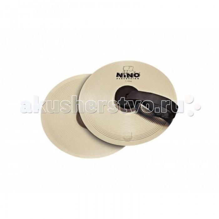 Музыкальные игрушки Meinl Детские ручные тарелки с кожаными ручками Nino-NS18, Музыкальные игрушки - артикул:514781