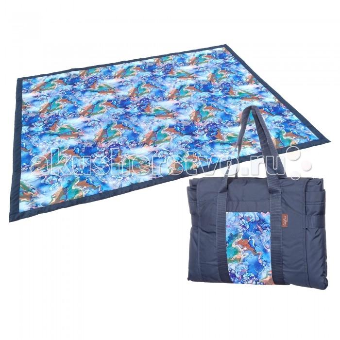 Сумки для мамы OnlyCute Сумка и коврик В синем море, в белой пене, Сумки для мамы - артикул:515006