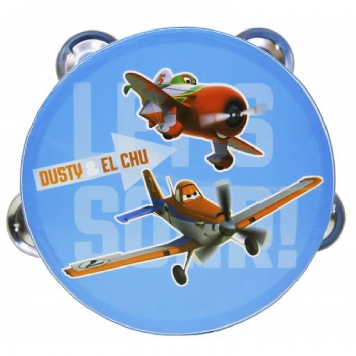 Музыкальные игрушки Flight Тамбурин Самолеты с 4 джинглами
