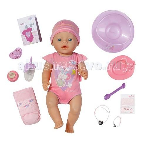 Купить Куклы и одежда для кукол, Zapf Creation Пупс Baby born интерактивная 43 см 820-414