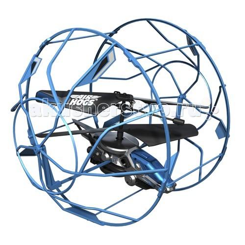 Air Hogs Вертолет в клетке 44501Вертолет в клетке 44501Очередное чудо техники из серии AirHogs - Вертолет в клетке 44501!   Этот уникальный вертолет защищен наружной клеткой, которая создает барьер между ним и поверхностью или предметами. Клетка вращается вокруг вертолета, что позволяет ему будто бы «забираться» на стену.   Модель хорошо подойдет новичкам в управлении вертолетами, с помощью которой они будут практиковаться с минимальными повреждениями игрушки. Для игры необходимо 6 батареек типа АА. Время зарядки около 30 мин, время игры около 5 мин.  Особенности игрушки: Оснащен защитной клеткой «Забирается» по вертикальным поверхностям Идеальный вариант для новичков Необходимо 6 батареек типа АА Время зарядки около 30 мин, время игры около 5 мин.  В набор входит:  Модель вертолета Пульт Управления<br>