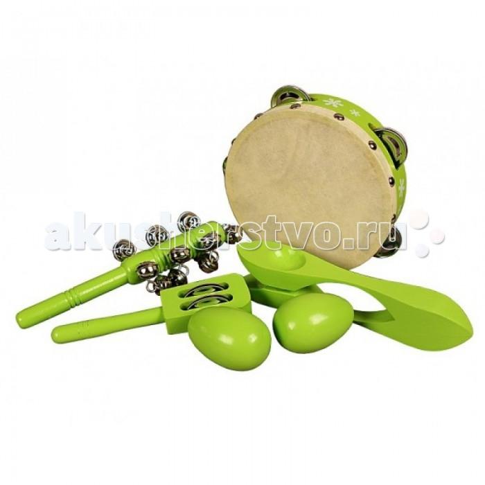 Музыкальные игрушки Flight Набор перкуссии (5 предметов), Музыкальные игрушки - артикул:516146
